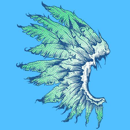 unique: POP DESIGN WINGS Illustration