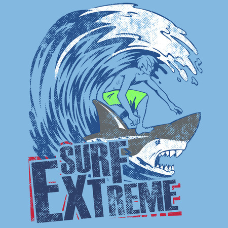 ocean wave: SURF EXTREME