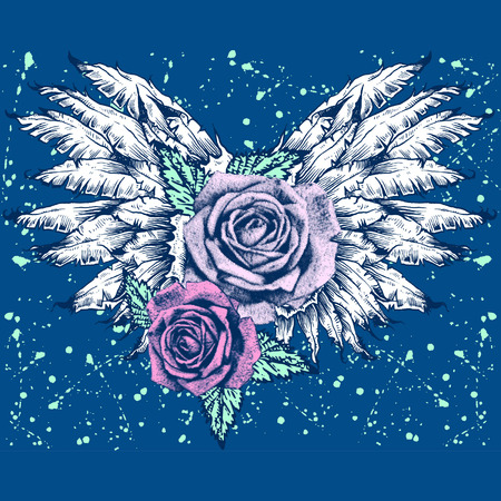 ROSES WITH WINGS
