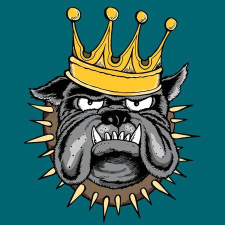 THE KING Illustration