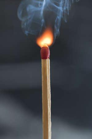 combust: Match stick ingiting