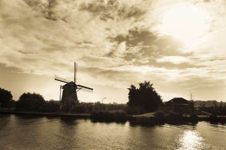 holland: Windmill in Holland