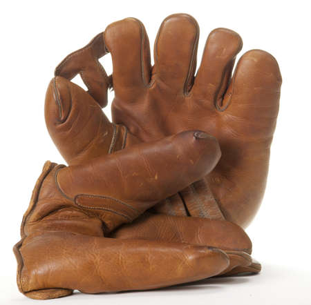 Old Fashioned Baseball Gloves