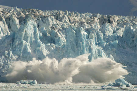 global warming: Glacier Calving
