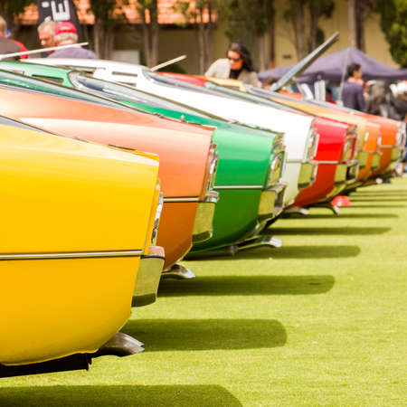 concourse: The  Alfa Romeo Owners Club of Australia hosted the Alfa Romeo Spettacolo, an annual high-end car show, at Wesley College in Melbourne, Australia on November 29, 2015. Editorial