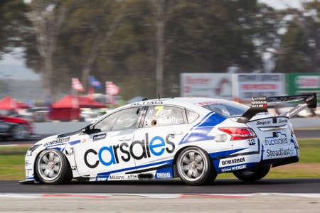 kelly: MELBOURNE, WINTONAUSTRALIA, 22 MAY , 2016: Virgin Australia Supercars Championship  - Todd Kelly (Carslaes Racing)  during qualifying session at Winton. Editorial