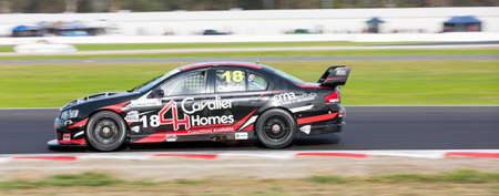 v8: MELBOURNE, WINTONAUSTRALIA, 22 MAY , 2016: Kumho Tyre Australian V8 Touring Car Series - Matt Chahda (Cavalier Homes) during Race 3 at Winton Raceway.