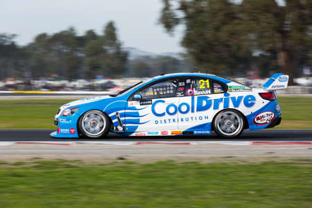 MELBOURNE, WINTON/AUSTRALIA, 22 MAY , 2016: Qualifiying session for race 11 of the Vigin Australia Supercars Champiionship at Winton Raceway.