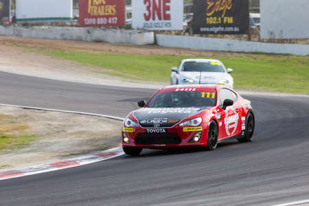 MELBOURNE, WINTON/AUSTRALIA, 22 MAY , 2016: Toyota 86 Racing Series  - Colin Hill (Illawarra Toyota / Hino)  during Round 1 at Winton.
