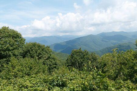 great smoky national park: Great Smoky Mountains, Great Smoky Mountains National Park, Taken 07.15 Stock Photo