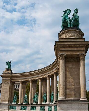 Hero square in Budapest Reklamní fotografie - 6961454