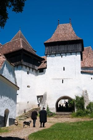 Viscri is best known for its highly fortified church, originally built around 1100 AD. It is part of the villages with fortified churches in Transylvania, designated as a World Heritage Site in 1993 photo