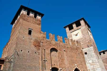 Castelvecchio in the City of Verona in Northern Italy