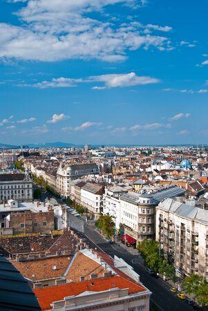 Budapest city, capital of Hungary, Panorama photo