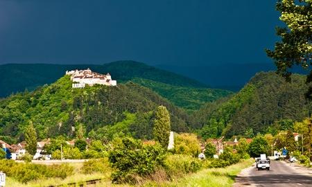 Medieval fortress in Rasnov Transylvania