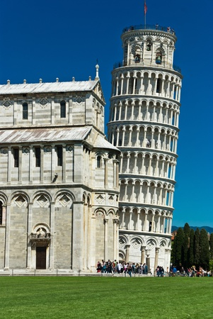 Cathedral of Pisa and Leaning Tower