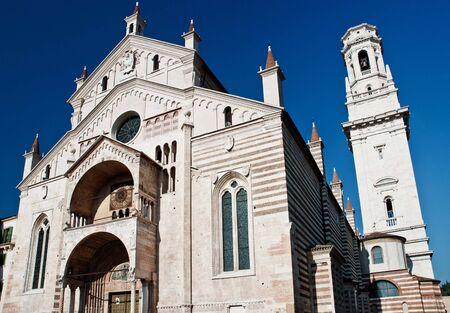 The Duomo,church in Verona landmark, Italy
