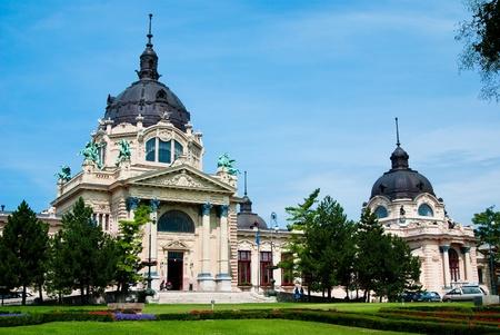 The Szechenyi spa the Varosliget (main city park of Budapest)