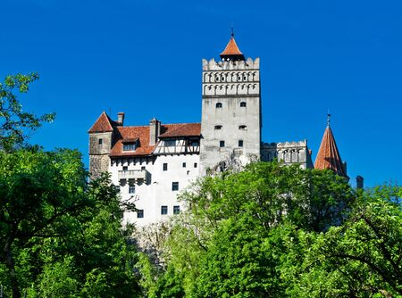Medieval castle, Bran - Romania, Transilvania, known as Draculas Castle photo