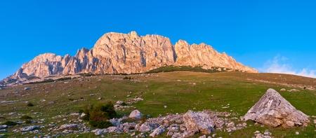 West side of the Bucegi mountains - Romanian Carpathians photo