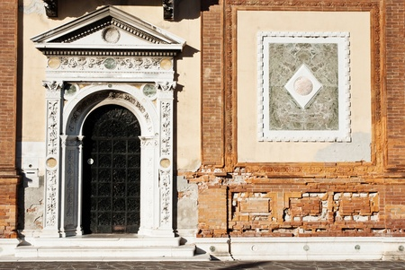 Beautiful facade of a building on Grand canal, Venice Stock Photo - 10978625