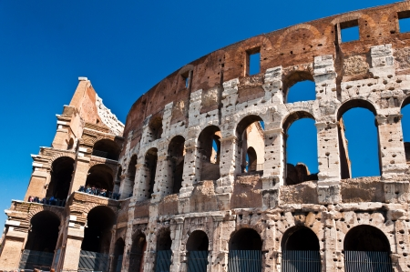 Landmark of Ancient Rome - the Colosseum, Italy