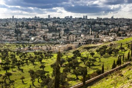 View of Mt  Olives, in the old city of Jerusalem, Israel Reklamní fotografie - 15789506