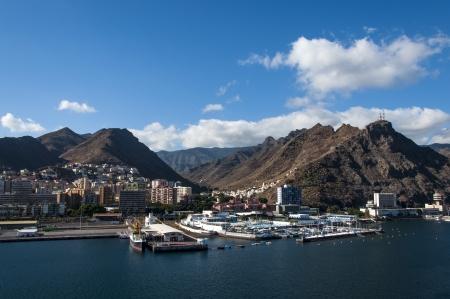 Port of Santa Cruz de Tenerife, Canary Islands, Spain