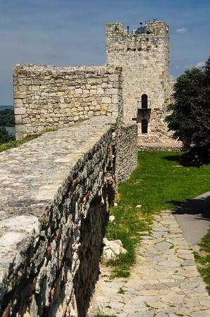 Tower inside Kalemegdan Fortress, Belgrade, Serbia Stock Photo - 16403334