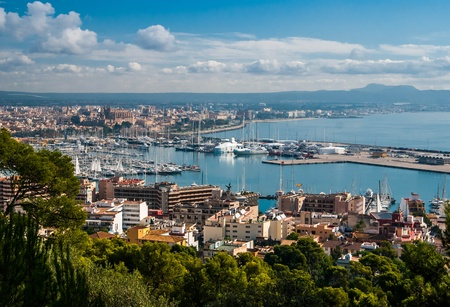 Overview of Palma de Majorca Stock Photo - 18284422