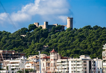 Landmark of Palma de Majorca - Sao Jorge castle Stock Photo - 18568289