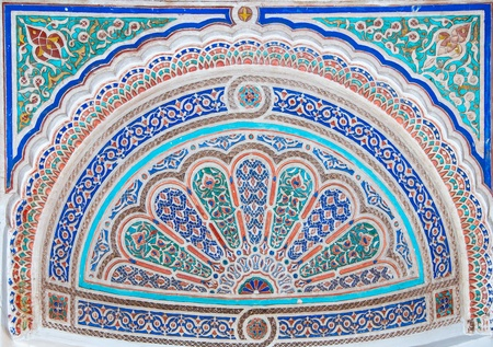 marocco: Moroccan style ceramic mosaic - Best of Marocco Stock Photo