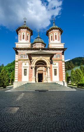 mount sinai: Il Monastero Sinaia � stato fondato nel 1695, in Valle di Prahova e prende il nome dal grande monastero del Sinai sul Monte Sinai