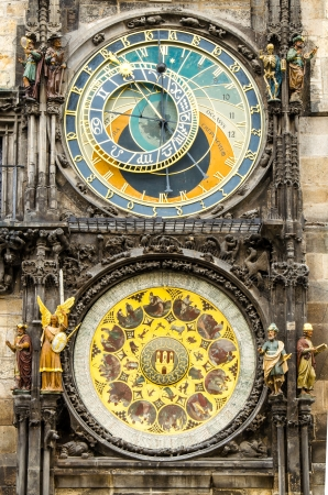 Medieval Astronomical Clock - Prague Orloj  Prague, Czech Republic