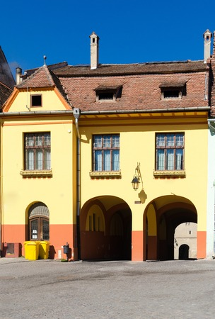 Sighisoara is considered to be the most beautiful and well preserved inhabited citadel in Europe, with authentic medieval architecture and one of the few fortified towns that are still inhabited  photo