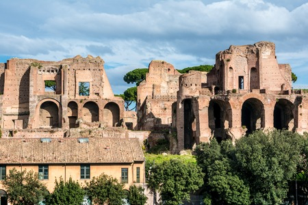 augustus: House of Augustus is the first major site upon entering the Palatine Hill in Rome, Italy  It served as the primary residence of Caesar Augustus during his reign