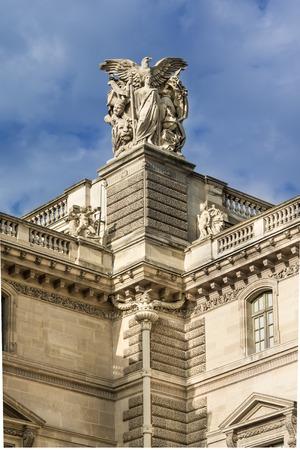 french renaissance: Obra maestra de la arquitectura del Renacimiento franc�s, construida de piedra cortada Foto de archivo