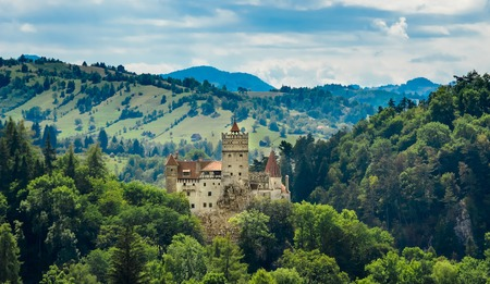 Bran Castle - Count Dracula Stock Photo
