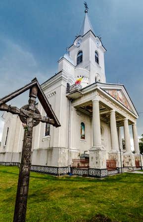 ortodox: Ortodox church in Maramures , Romania Stock Photo