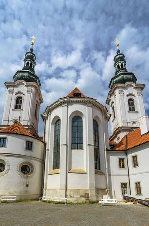 Strahov Monastery,Prague, Czech Republic Stock Photo