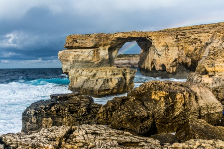 azure coast: Azure window is located on the West coast of Gozo island, Dwejra is perhaps the most spectacular natural monument in Malta.