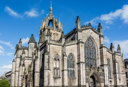 termed: St Giles Cathedral, more properly termed the High Kirk of Edinburgh, is the principal place of worship of the Church of Scotland in Edinburgh