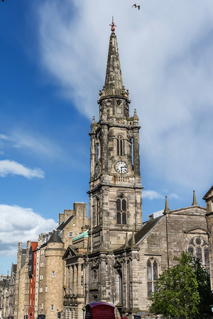 kirk: The Tron Kirk is a former principal parish church in Edinburgh, Scotland. It is a well-known landmark on the Royal Mile. It was built in the 17th century and closed as a church in 1952. Having stood empty for over fifty years, it was used briefly as a tou