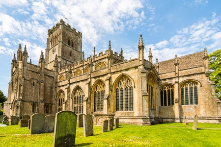cotswold: In the small Gloucestershire Cotswold town of Northleach the church of St Peter and St Paul lays claim to 12th century origins. Part of the church dates back to at least the 12th century but it was the wealth of the local wool merchants in the 15th centu
