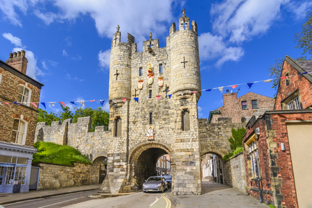Micklegate - old medieval gate of York,UK