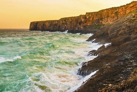 Portugal, Algarve, Sagres: Wonderful coastline Stock Photo