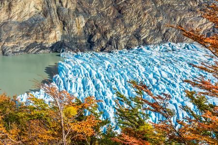 Grey Glacier,Patagonia, Chile,Patagonian Ice Field, Cordillera del Paine