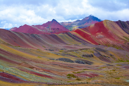 Vinicunca or Rainbow Mountain,Pitumarca-Peru