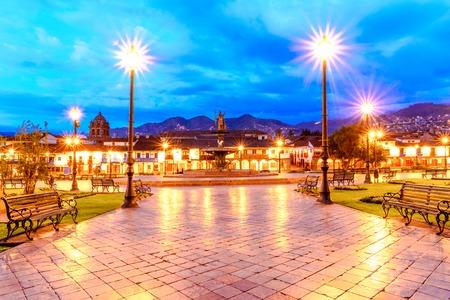 Plaza de Armas, Cusco, Peru - early in morning