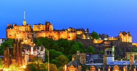 The North Walls of Edinburgh Castle, Scotland